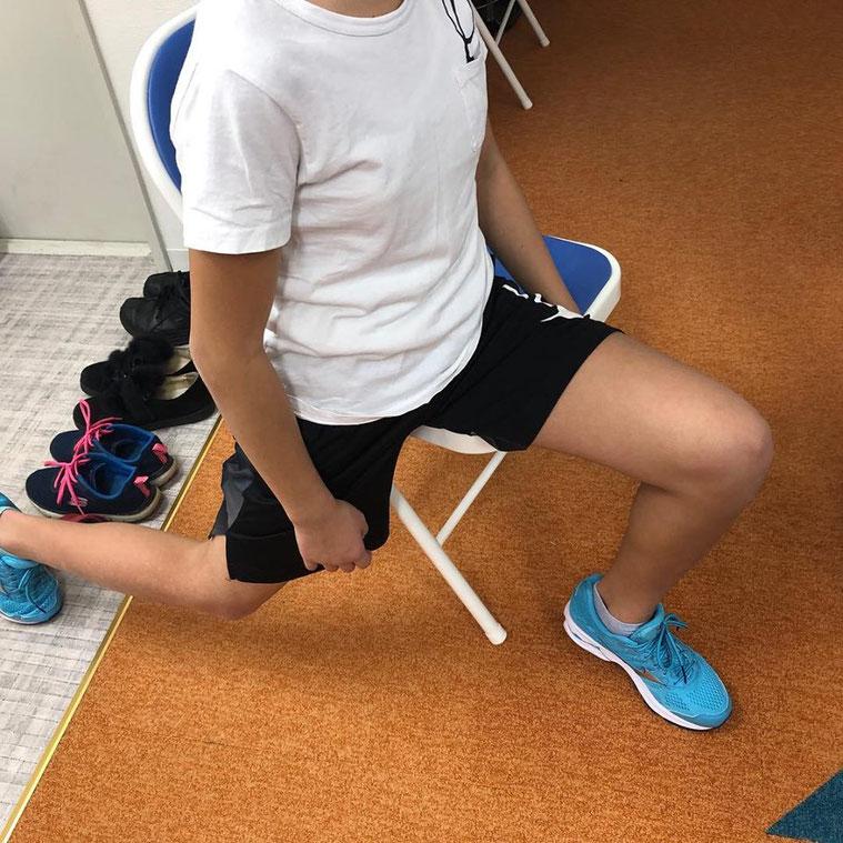大腰筋ストレッチ アライメントトレーニング インソール