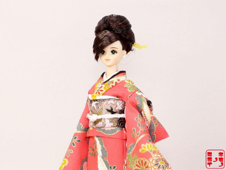 ジェニー 着物,momoko kimono,プーリップ 和服