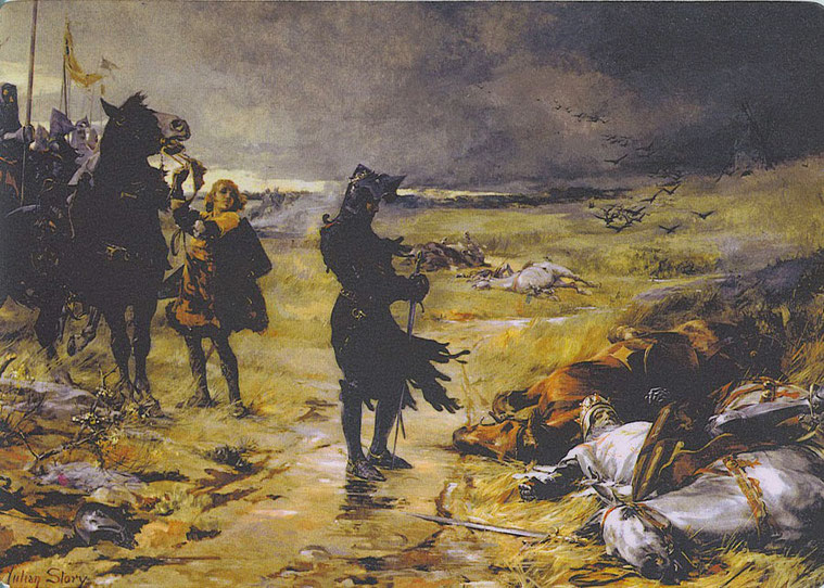 "Julian Russell Story, ""The Black Prince of Crecy"" (1888)"