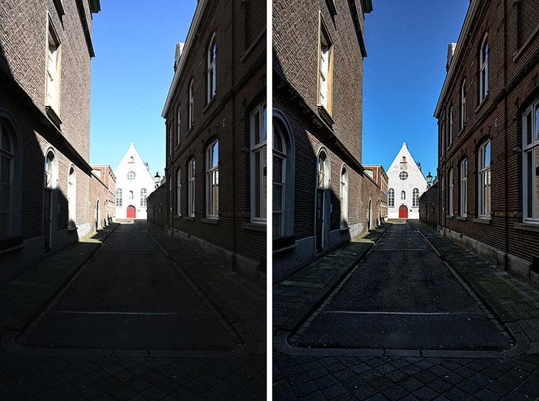 Vergleichsbild zum Kontrastumfang der NEF-Dateien aus der NIKON Z7. Foto: Dr. Klaus Schörner