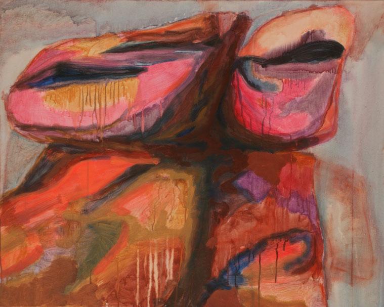 Ohne Titel, 2017 Acryl auf Leinwand 80x100