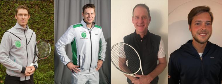 Von links nach rechts: Kevin Hermes, Hans Grimmelt, Rolf Gehring