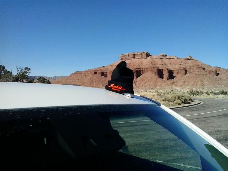 Bild: HDW-USA, Mister T. und der Weiße Büffel, Roadtrip, Amerika, Sahli Walsrode, Utah, Interstate 70