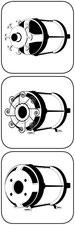 Wickeln Stator wickeln Rotor auslagern Icon