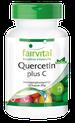 Quercetin plus C, natürliches Antihistaminikum als Nahrungsergänzungsmittel von fairvital