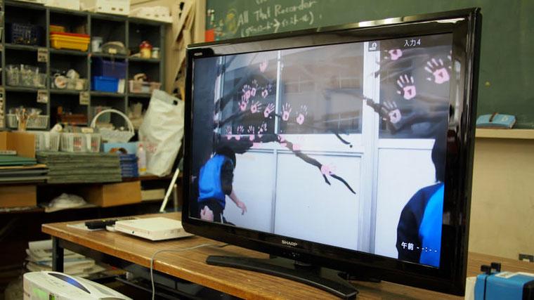 映像には生徒たちの楽しそうな作画風景が記録されていて、わたしには、とても上質のドキュメントに思えた。