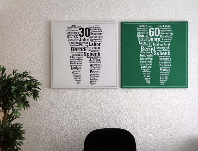 Leinwandformat 2 x 60 x 60 cm