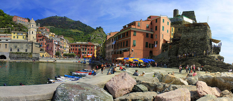 Vernazza - Les Cinq Terres, en Ligurie (Italie)