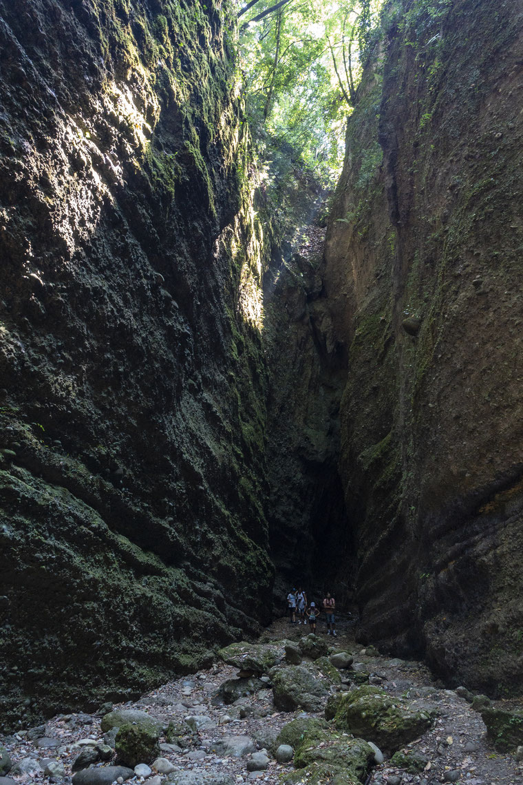 vallon obscure de donareo à Nice randonnée