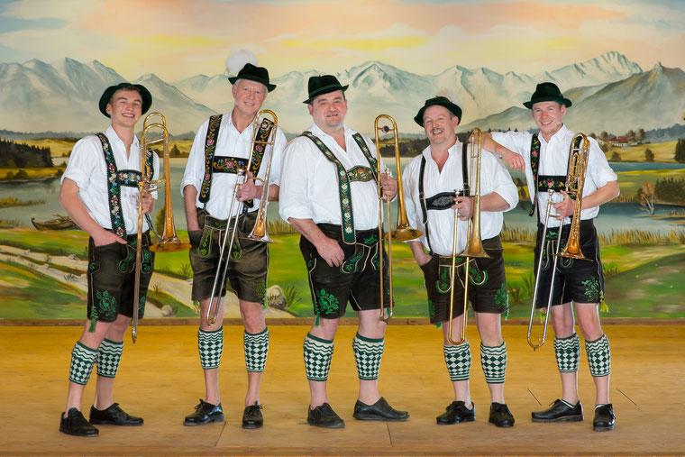 v.l.: Christoph, Bernhard, Konrad, Toni, Philipp