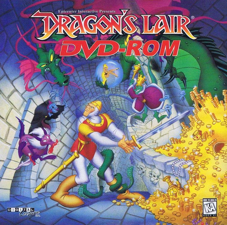 Dragon's Lair DVD-Rom