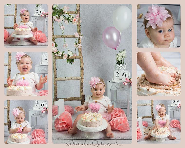 Cake-Smash 1. Geburtstag