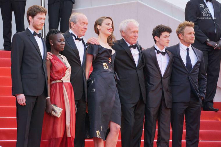 """Montée des Marches de l'équipe du film """" La fille inconnue """" de Jean-Pierre et Luc Dardenne - Festival de Cannes 2016 - Photo © Anik Couble"""