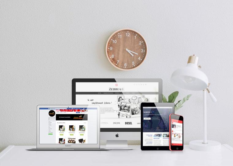 création site web par zebrure