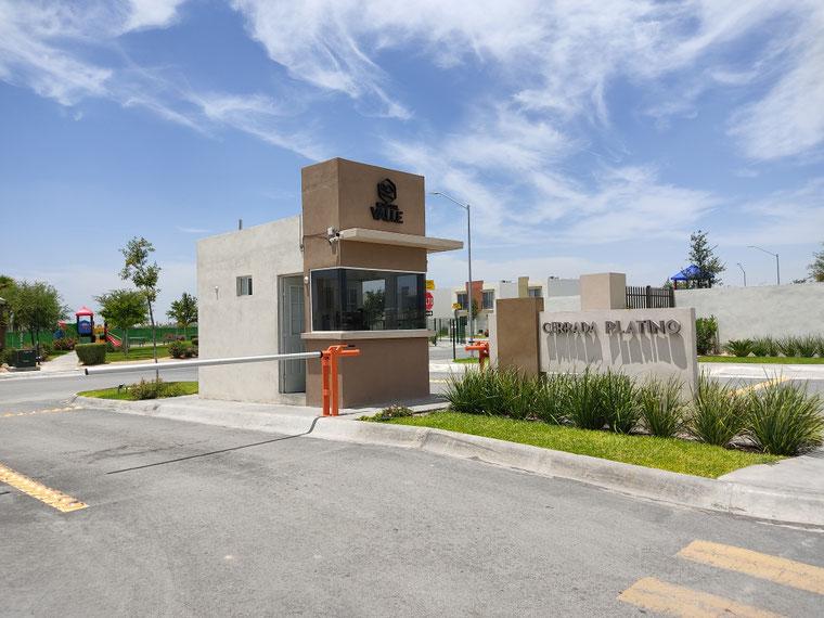 Paseo del Valle cerrada Platino, Ruba