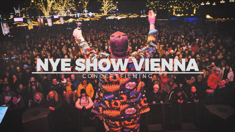 Konzertfilm Konzertvideo Rathausplatz Wiener Silvesterpfad