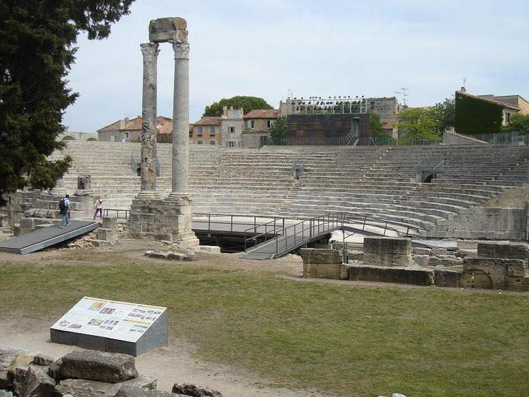 Le théatre Antique (1er siècle av JC)