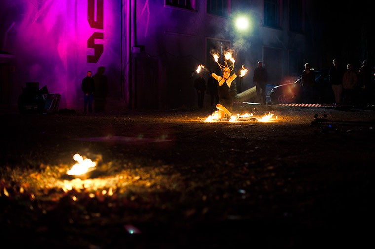 Fantômes de Flammes - Feuershows und Lightshows in Reutlingen bei Stuttgart