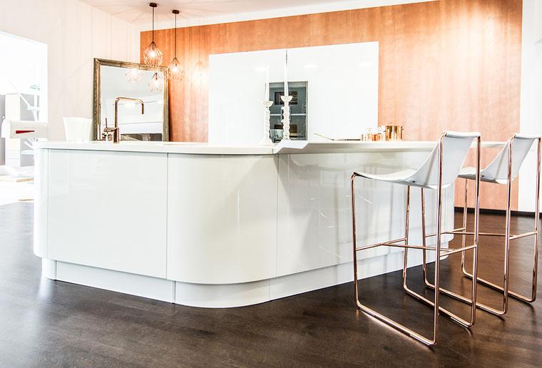 Küchen-Glück-Mineralstoff-Arbeitsplatte
