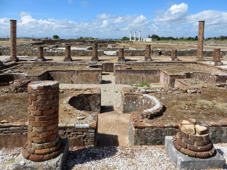 Konimbrigos griuvėsiai Portugališkajame piligrimų kelyje