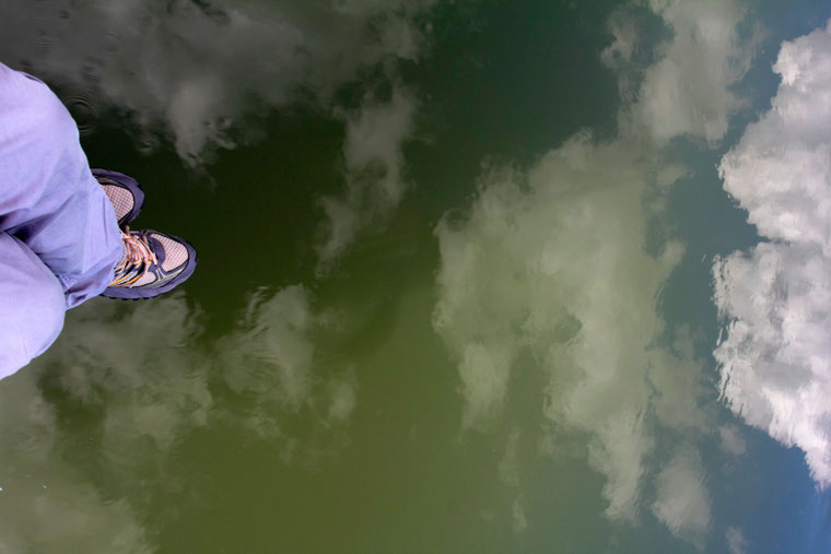 Dunojumi plaukia debesys / Foto: Kristina Stalnionytė
