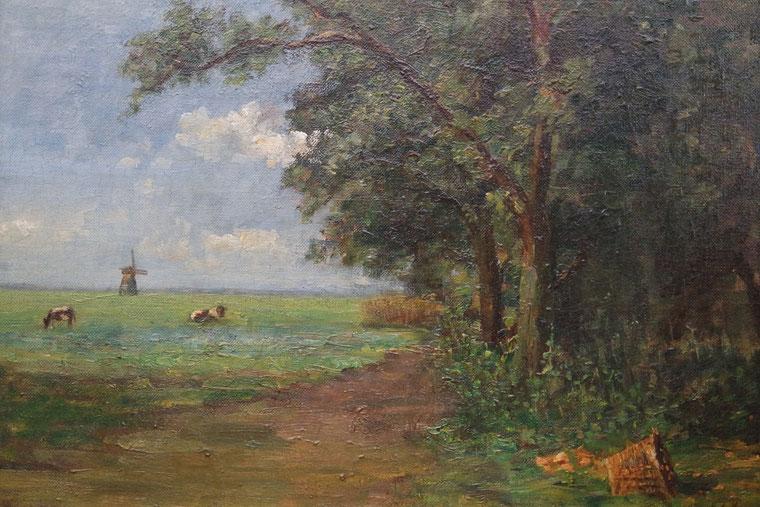 te_koop_aangeboden_een_landschapsschilderij_van_de_kunstenares_margaretha_agatha_mees_1870-1952
