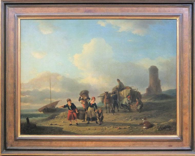 te_koop_aangeboden_een_schilderij_van_louis_auguste_adolphe_williot_1829-1865