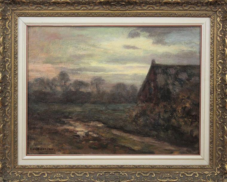te_koop_aangeboden_een_landschaps_schilderij_van_de_nederlandse_kunstschilder_emanuel_ernest_gerardus_van_der_ven_1866-1944_larense_school