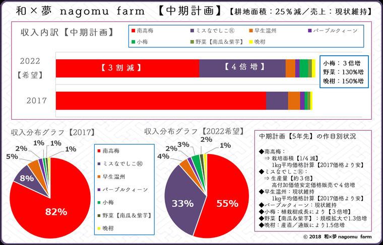 経営戦略【中期計画:5年計画】和×夢 nagomu farm