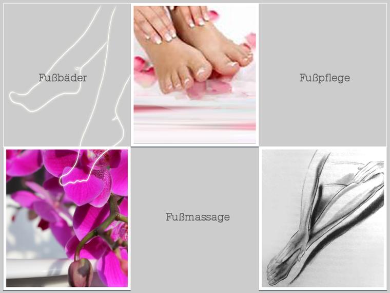 Fußbäder Fußmassage Fußpflege