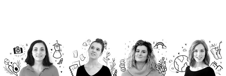 4 nouveaux community managers graphistes et copywriters agence zebrure janvier 2019