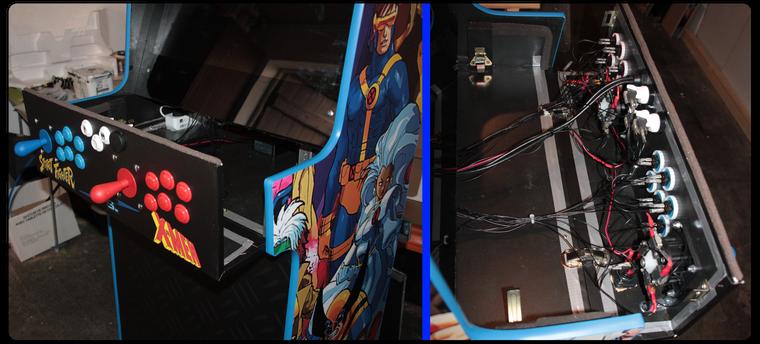 Panel 2 joueurs amovible