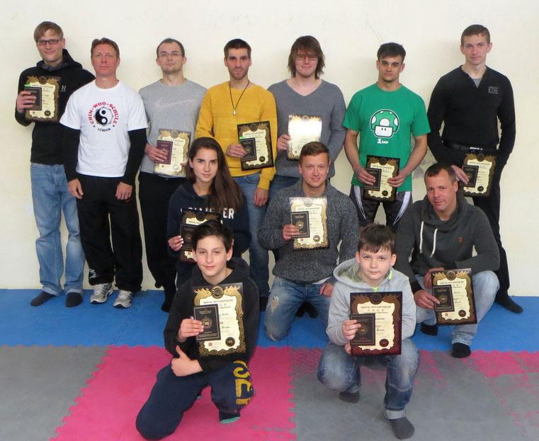 Kickbox Prüfung vom 16.5.15