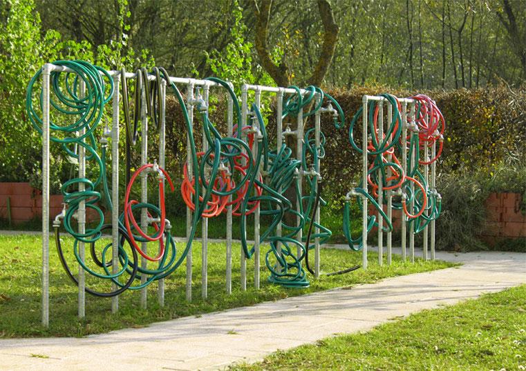 """""""Fata Morgana"""" - 2010 - Situation: Dementengarten des AWO Seniorenheims, Pommelsbrunn"""