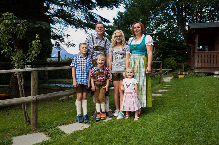 Hansi, Astrid, Helene, Paul, Moritz & Hanna