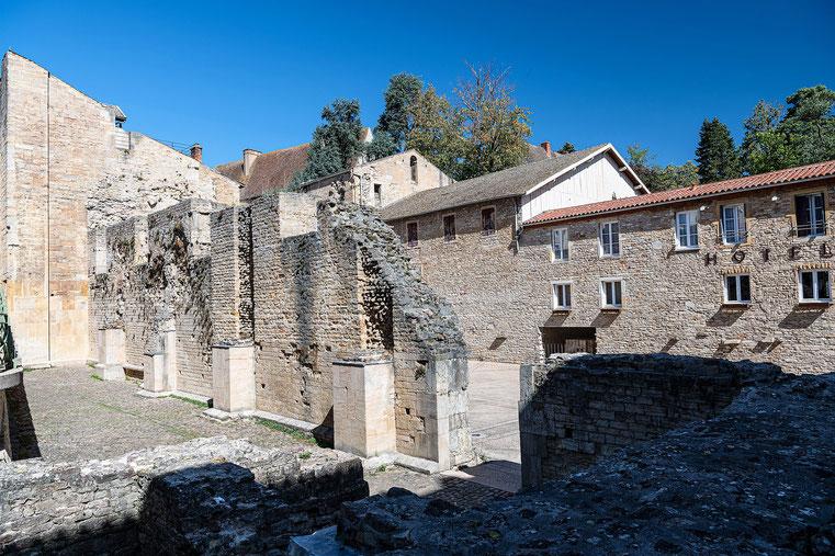 Vestiges de l'abbaye de Cluny