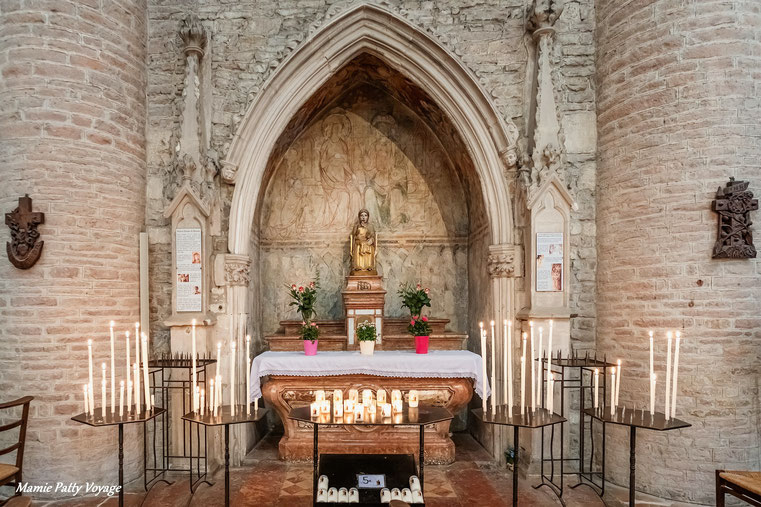 Notre-Dame La Brune, Abbaye Saint-Philibert de Tournus
