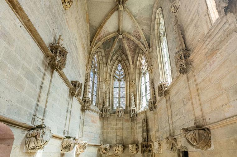 Chapelle Jean de Bourbon, abbaye de Cluny, Bourgogne