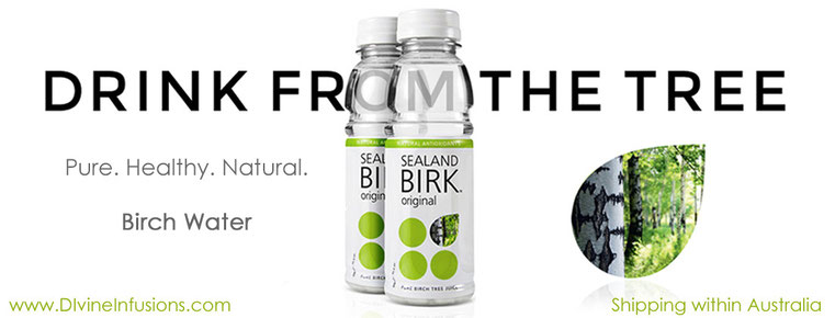 Botanical Water - low GI, electrolytes, trace minerals, health tonic and so yummy! (Available in Australia from Divine Infusions)