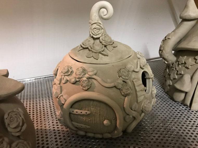 Keramik Garnschale