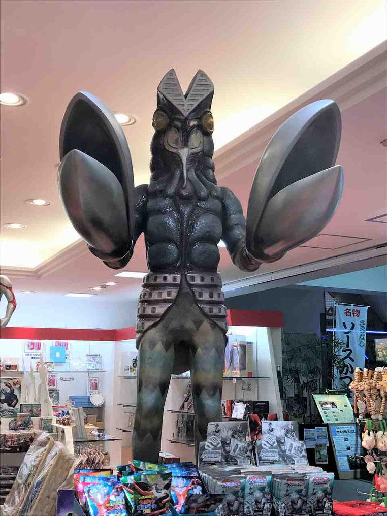 福島空港にはウルトラマンがいっぱい