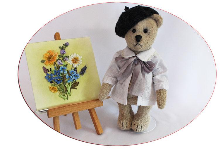 "Sammler Teddybären collectors teddy bears ""Salvador der Maler"" Handmade"