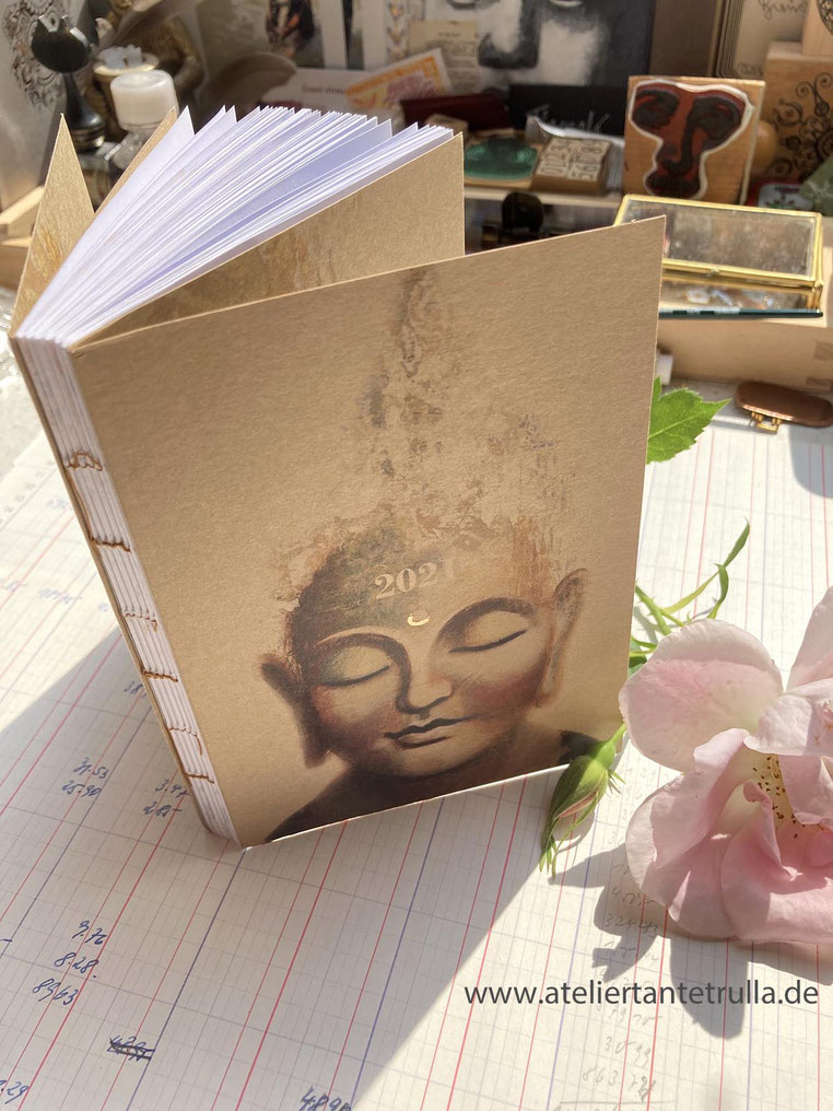 Buddha Kalender 2021 Wochenplaner DIN A6 Taschenkalender