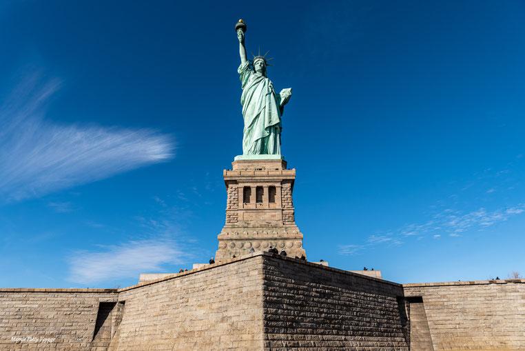 La Liberté éclairant le monde, New York