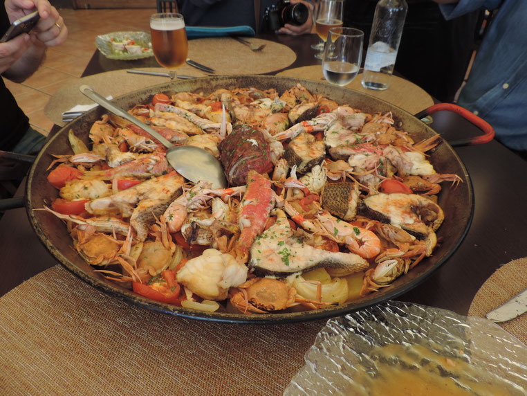 """La """"llandeta de peix"""", un plato típico de Dénia, que tendrá su protagonismo en el reportaje de RTVE"""