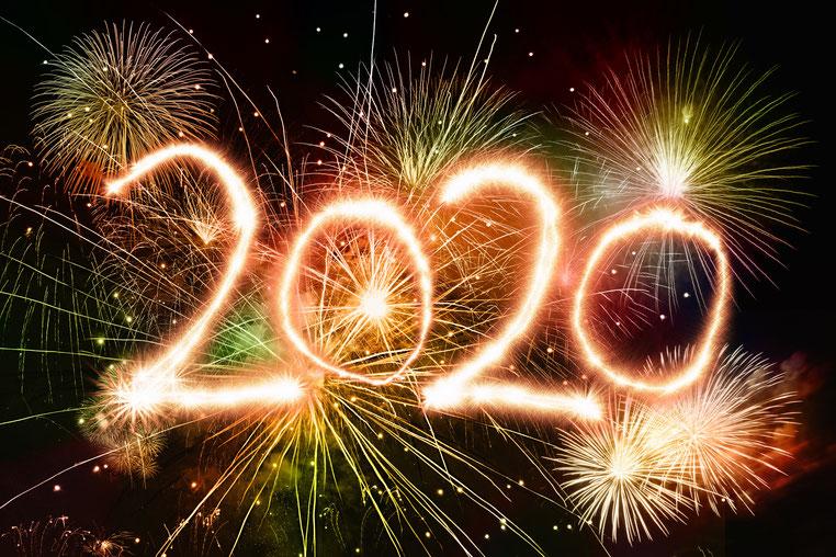 abasoft EDV-Programme GmbH Frohes Neues Jahr Sylvester 2020 Danke