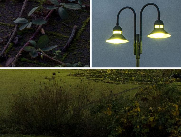 Im Test: 100%-Ausschnitte, Nachtfotografie mit der SONY Alpha 7s2 und ZEISS Biogon-M 2,0/35 mm sowie NOVOFLEX NEX/LEM-Adapter. Foto: Klaus Schoerner