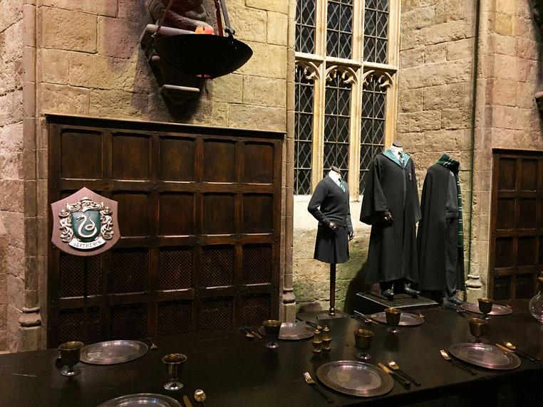 image: nina luca, warner bros london, warner bros studios, harry potter, hogwarts, hogwarts express, harry potter london, harry potter studios, london warner bros, slytherin