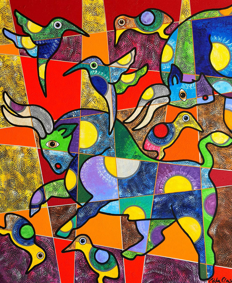 Edda Clasen, contemporary art, arte contemporaneo, contemporary art,  Latin-American Art