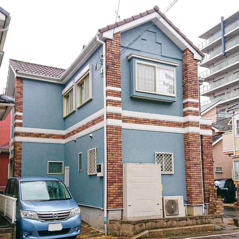 千葉市美浜区浜田の屋根、外壁塗装工事 塗装後